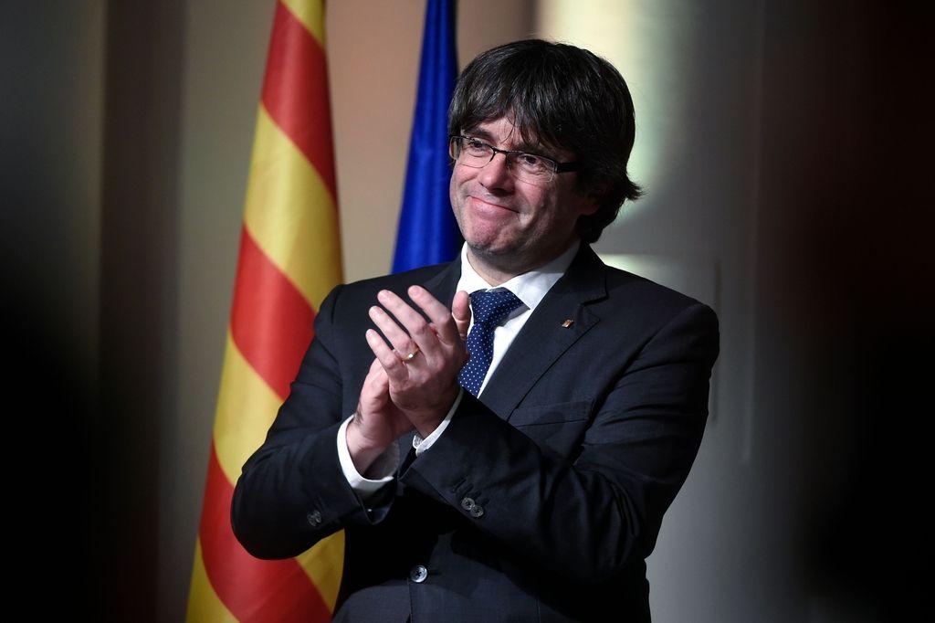 Španija preklicala evropski priporni nalog za Puigdemonta