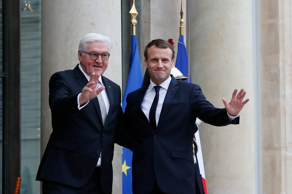 Steinmeier za Macronovo evropsko pobudo