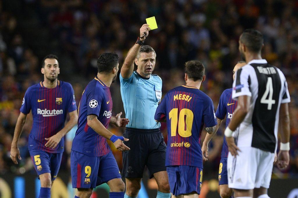 Skomina bo piskal Barceloni in Chelseaju