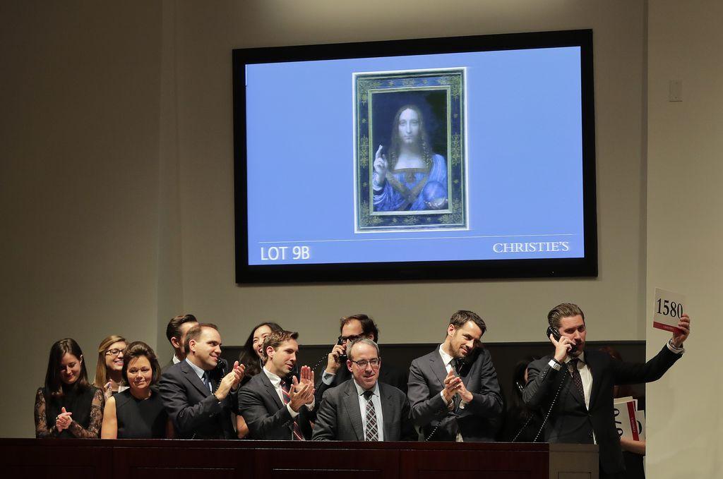 Dražbe umetnin: Svetovni rekord pripada Leonardu da Vinciju