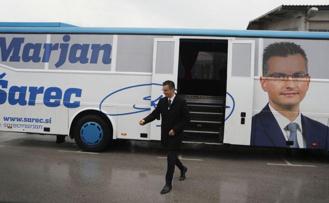 Predsedniški kandidat Marjan Šarec  je v pričenja z obiski različnih krajev Slovenije. Kamnik, 25. september 2017 [Marjan Šarec,Kamnik]