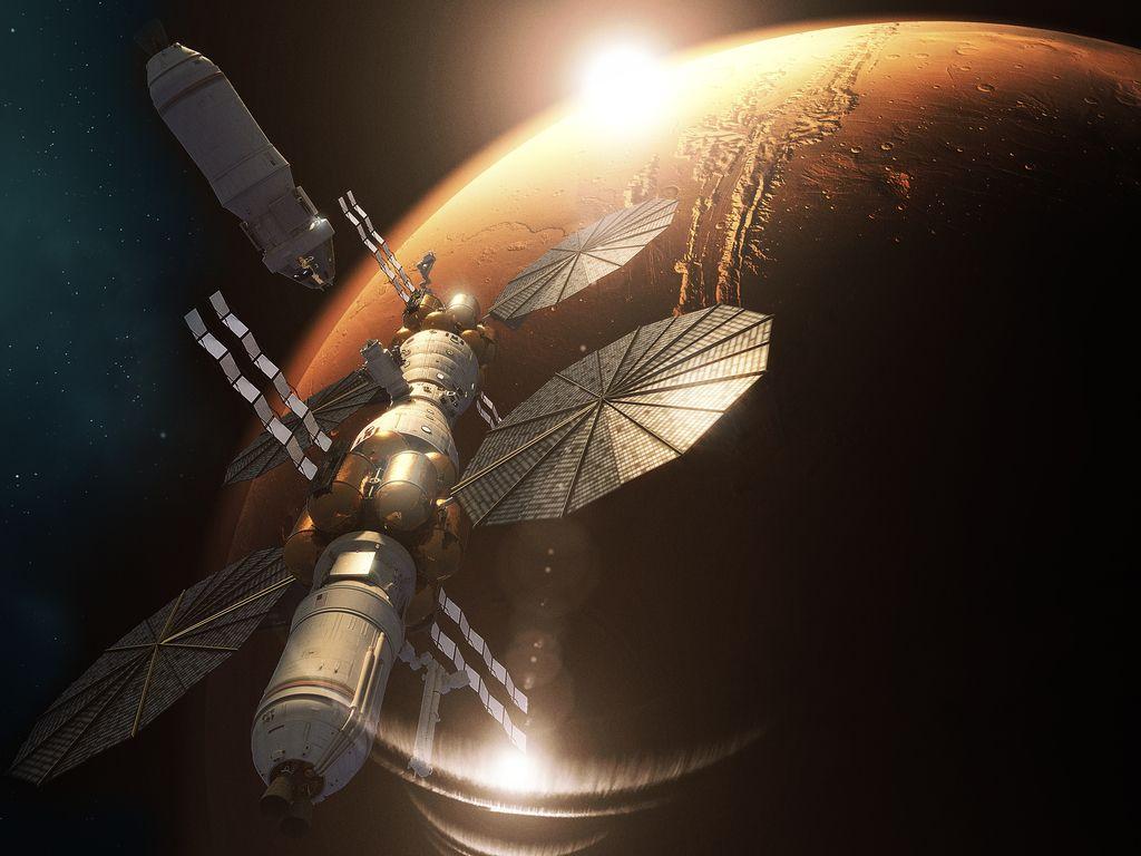 Marsova vesoljska postaja že kmalu resničnost