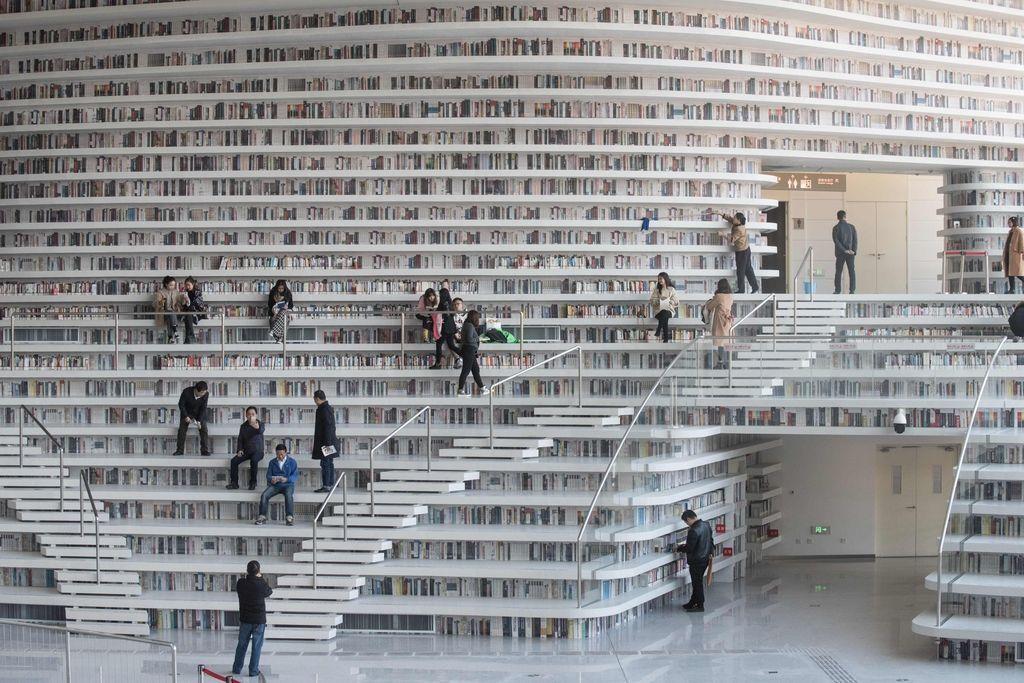 Najlepša knjižnica na Kitajskem