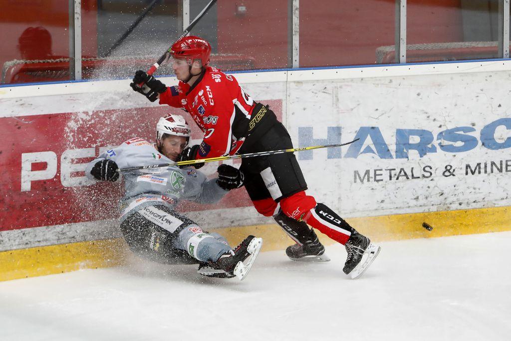 Kljub porazu ostali na vrhu AHL