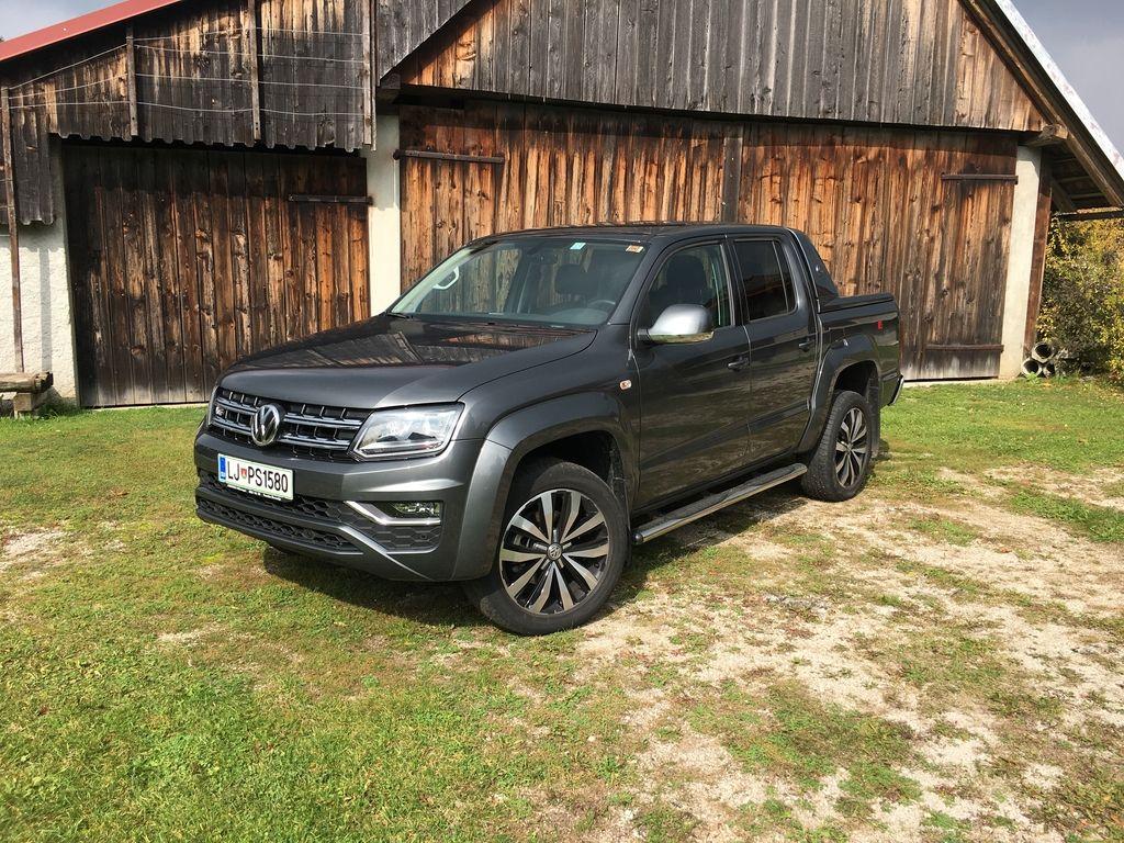 Preizkusili smo: Volkswagen amarok (highline) aventura 3.0 TDI 4M