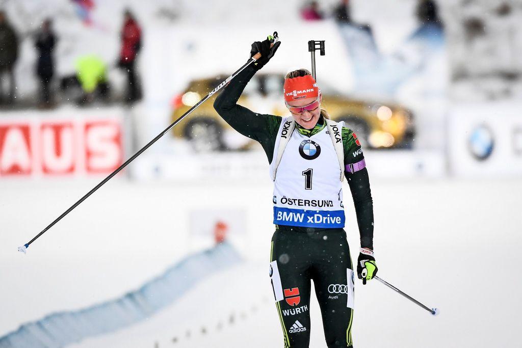 Herrmannova najhitrejša tudi v zasledovanju, Slovenki v ozadju