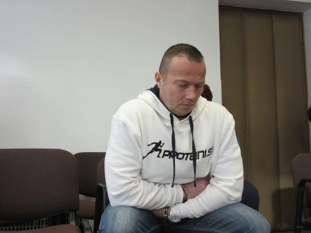 Za grozovit in zahrbten umor Laubiču 26 let zapora