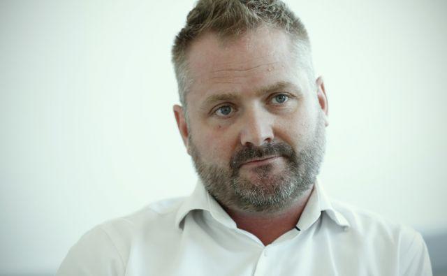 Andrej Matvoz, direktor Agencije za varovanje konkurence, v Ljubljani, 30. avgusta 2017. [Andrej Matvoz,direktorji,agencije,gospodarstvo,konkurenca,Agencija za varovanje konkurence]