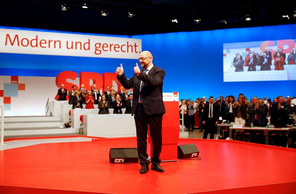 Nemška SPD za pogovore o veliki koaliciji s CDU/CSU
