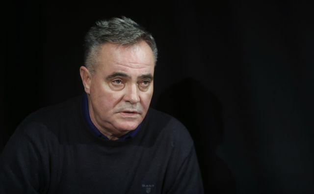 Tomaž Kavčič, novi slovenski selektor. Ljubljana, 5. december 2017 [Tomaž Kavčič,portreti,Ljubljana,nogomet,selektorji]