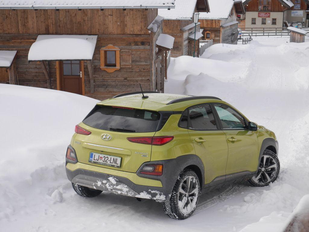 Preizkusili smo: Hyundai kona 1.6 T-GDI impression AWD