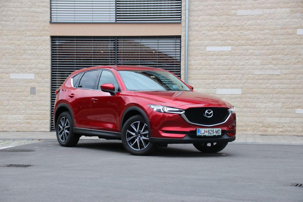 Preizkusili smo: Mazda CX-5 CD150 AWD revolution