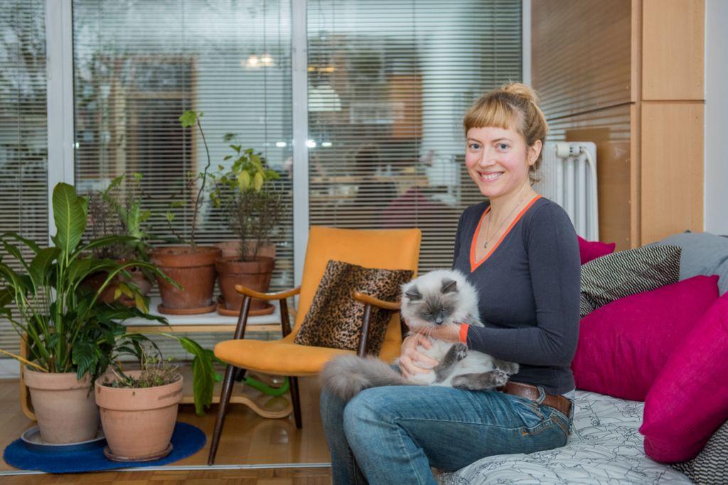 Luna J. Šribar: Brezdomci so me spremenili