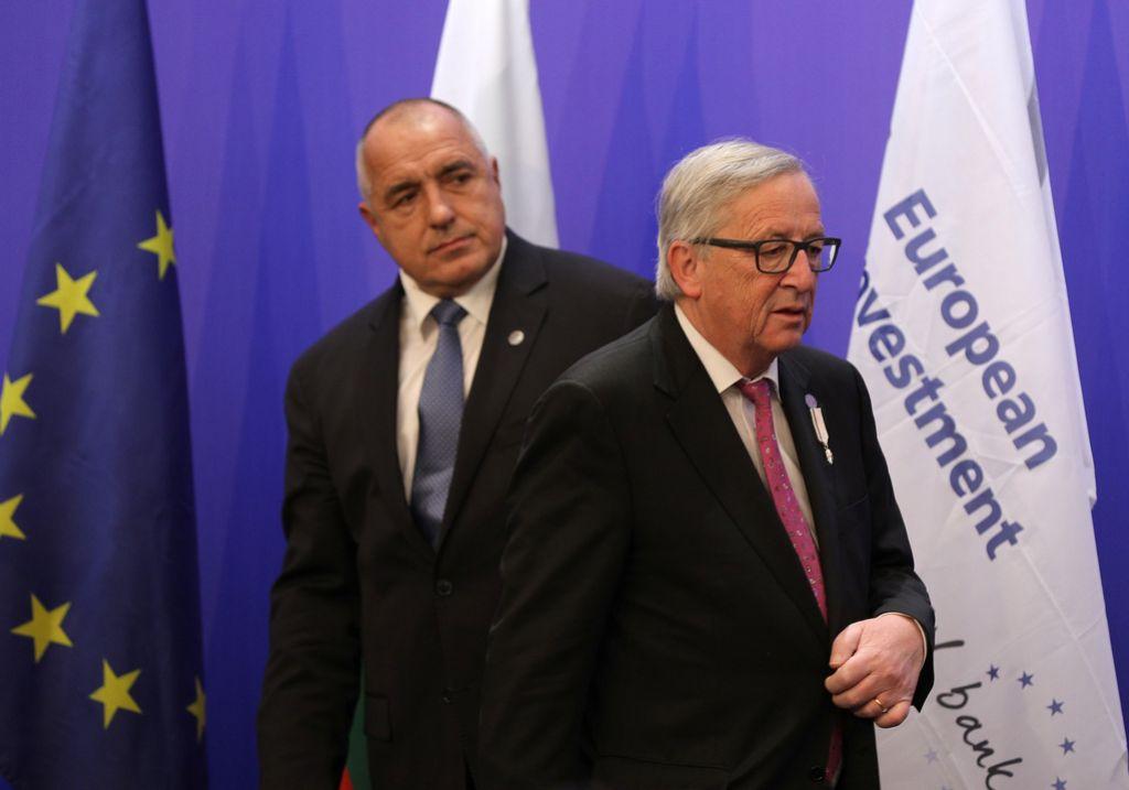 Juncker in Borisov za jasno evropsko perspektivo Zahodnega Balkana