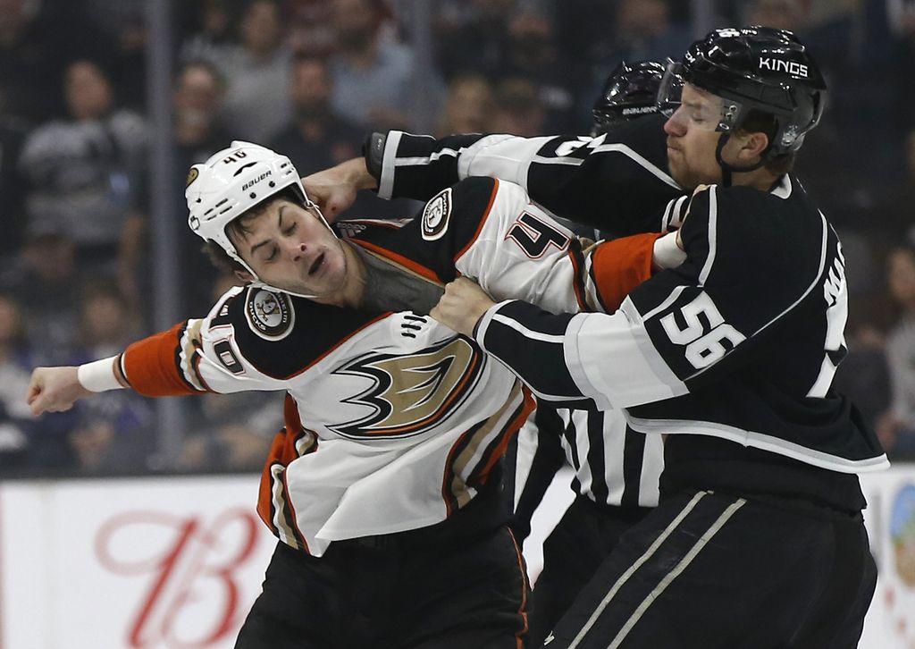 NHL: Kopitar zadel, Kralji pa praznih rok (VIDEO)