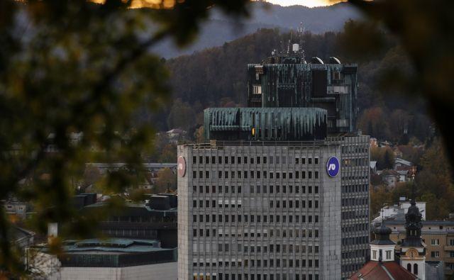 Sedež Nove ljubljanske banke - NLB, v Ljubljani, 24. oktobra 2017. [Ljubljanska banka,NLB,banke,bančništvo,finance]