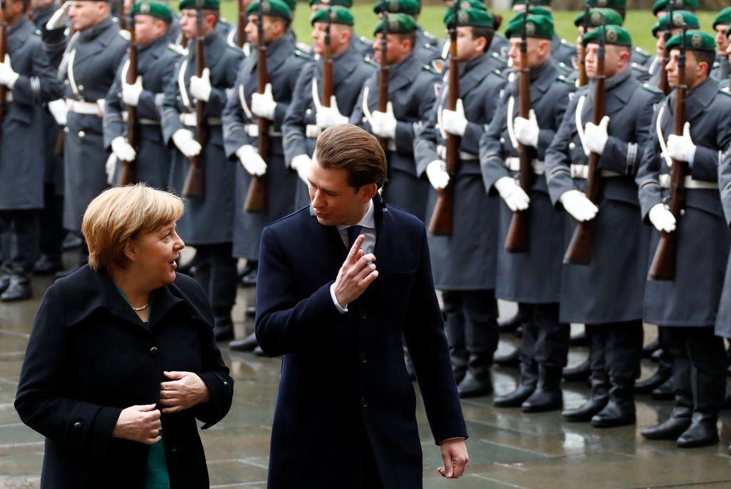 Avstrijec v Berlinu za boljšo zaščito zunanjih meja EU