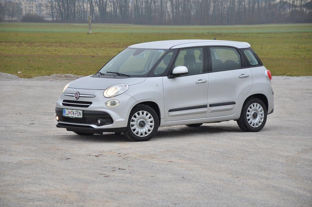 Preizkusili smo: Fiat 500L 1.3 multijet II 16v City