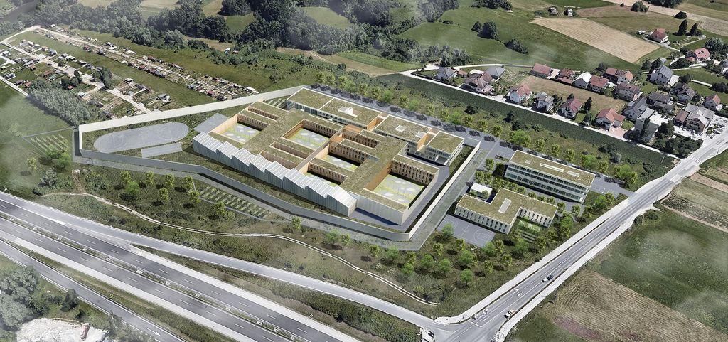 Arhitekturne ideje novih zaporov v Dobrunjah in na Igu