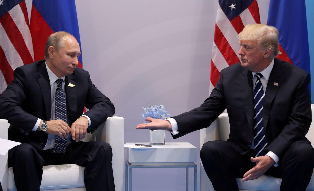 Putin še vedno pripravljen na srečanje s Trumpom