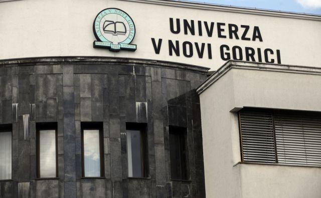Univerza v Novi Goricii. V Novi Gorici 16.4.2014