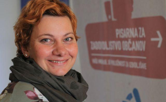 Barbara Umnik,pisarna za zadovoljstvo občanov Kranj 4.1.2018 [Barbara Umnik,pisarna za zadovoljstvo občanov]