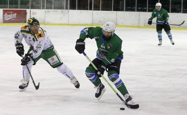 Hokej Olimpija - Lustenau 01.oktobra 2017 [šport,hokej,Olimpija,Lustenau]