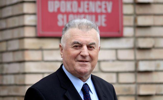 Janez Sušnik,predsednik ZDUS,Ljubljana Slovenija 15.01.2018 [Portret ]