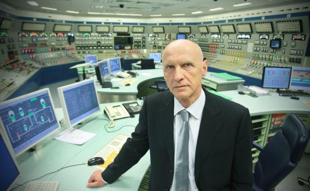 Stane Rožman, direktor Nuklearne elektrarne - NEK v Krškem, 13.aprila 2013.