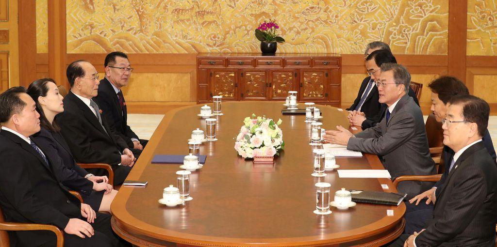 Kim Džong Un povabil južnokorejskega predsednika na obisk