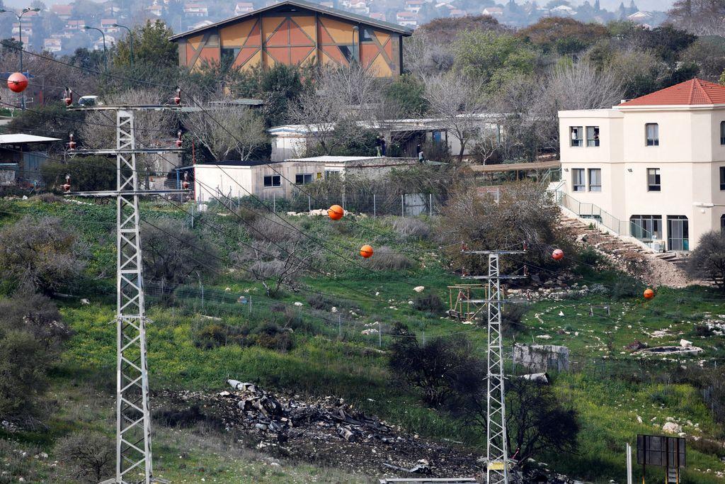 Sirska vojska sestrelila izraelsko vojaško letalo