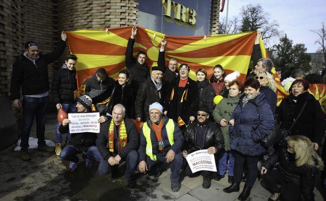 Protest Makedoncev