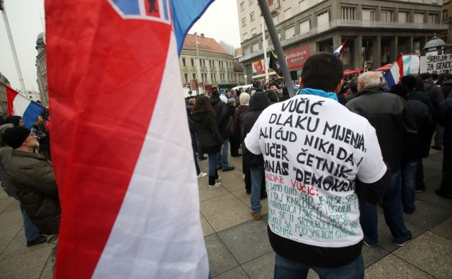 CROATIA-SERBIA-DIPLOMACY-DEMO