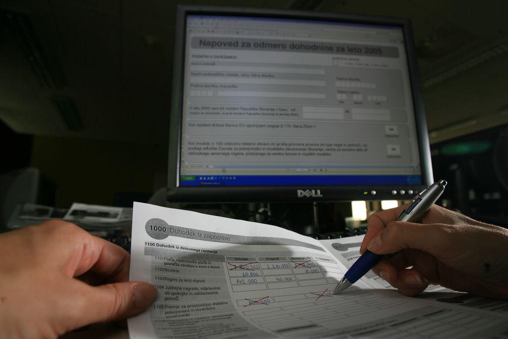 Davčni svetovalci se čudijo formuli za olajšavo