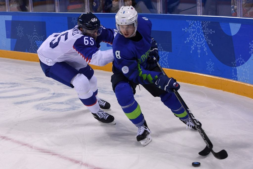 Doping: Na testu padel hokejist Žiga Jeglič