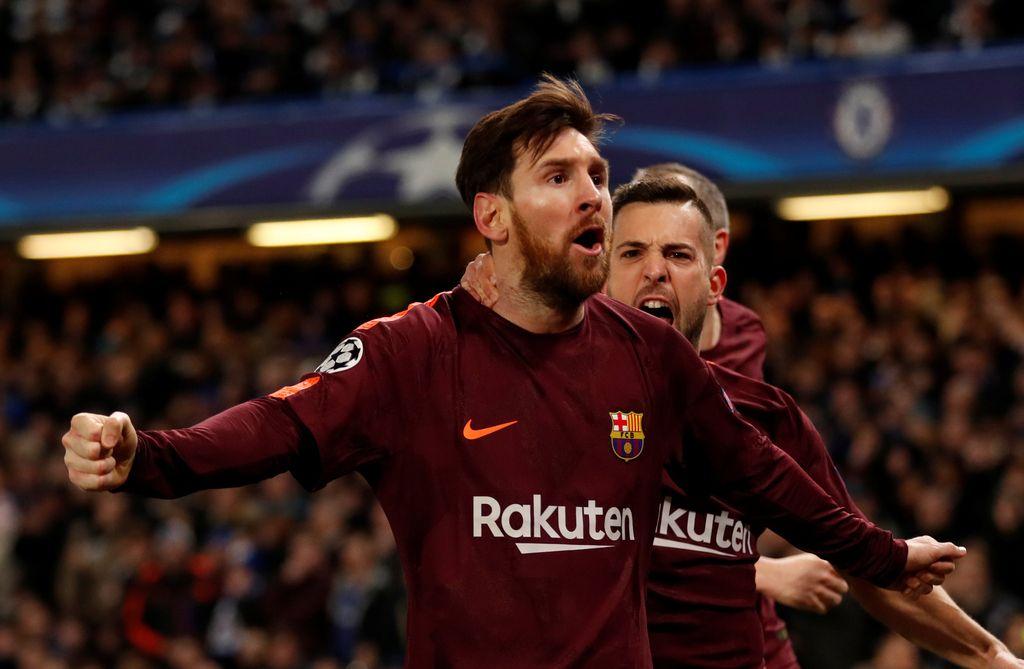 Messi prekinil urok in s prvencem vrnil Katalonce v igro