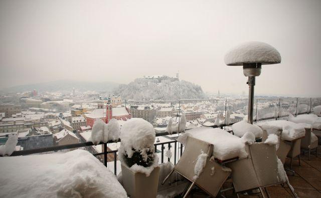 Sneg, zima, motivi