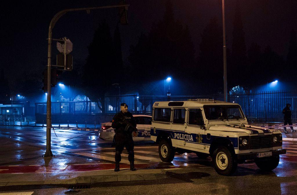 V Podgorici samomorilski napad na ameriško veleposlaništvo