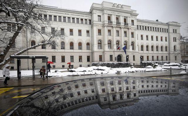 Sodišče v Ljubljani 23.februarja 2018 [sodišča,sodstvo,stavbe,Ljubljana]