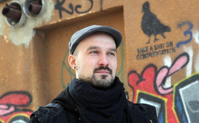 Antropolog Sandija Abram. V Ljubljani 14.2.2018[Sandi Abram.antropolog.urbanakultura]