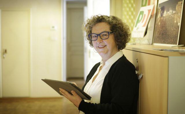 Tamara Blažina, nekdanja slovensko poslanko in senatorko v italijanskem parlamentu. Italija, Trst, 14. februar 2018 [Tamara Blažina,portreti,Trst]
