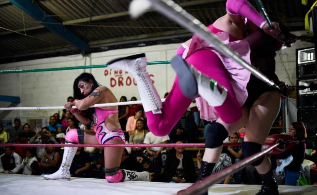 MEXICO-WRESTLING-WOMEN
