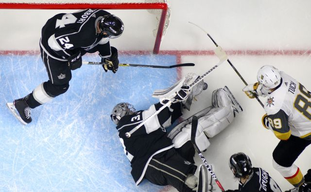 APTOPIX Golden Knights Kings Hockey