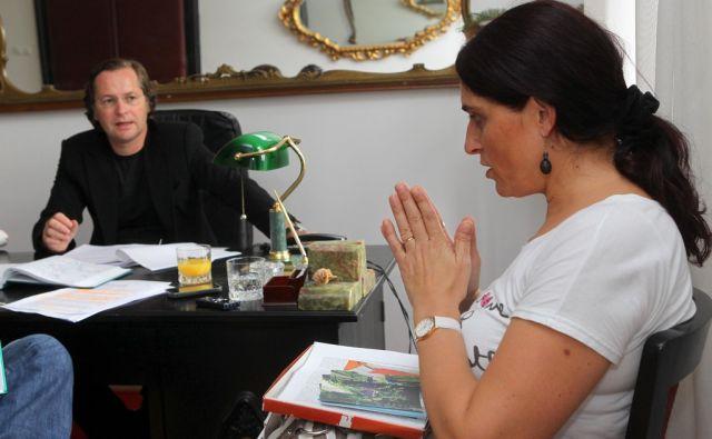 Ljubljana, 6.09.2012, Avsec Darja tozi zdravnike zaradi smrti otroka. Foto: Marko Feist