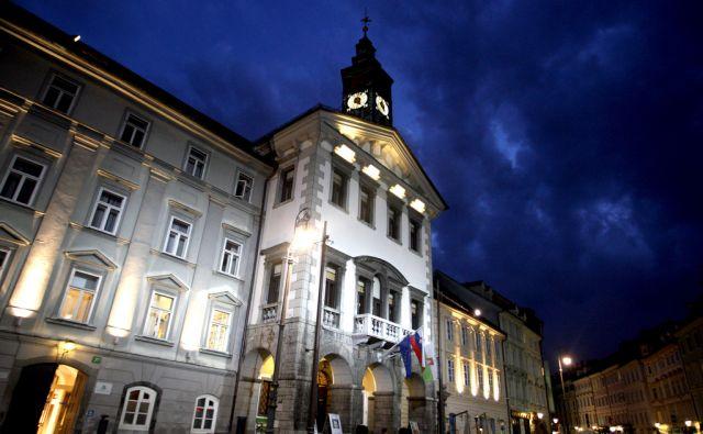 SLOVENIJA LJUBLJANA  06.11.2012 MAGISTRAT MOL MESTNA HISA FOTO:ROMAN SIPIC/DELO