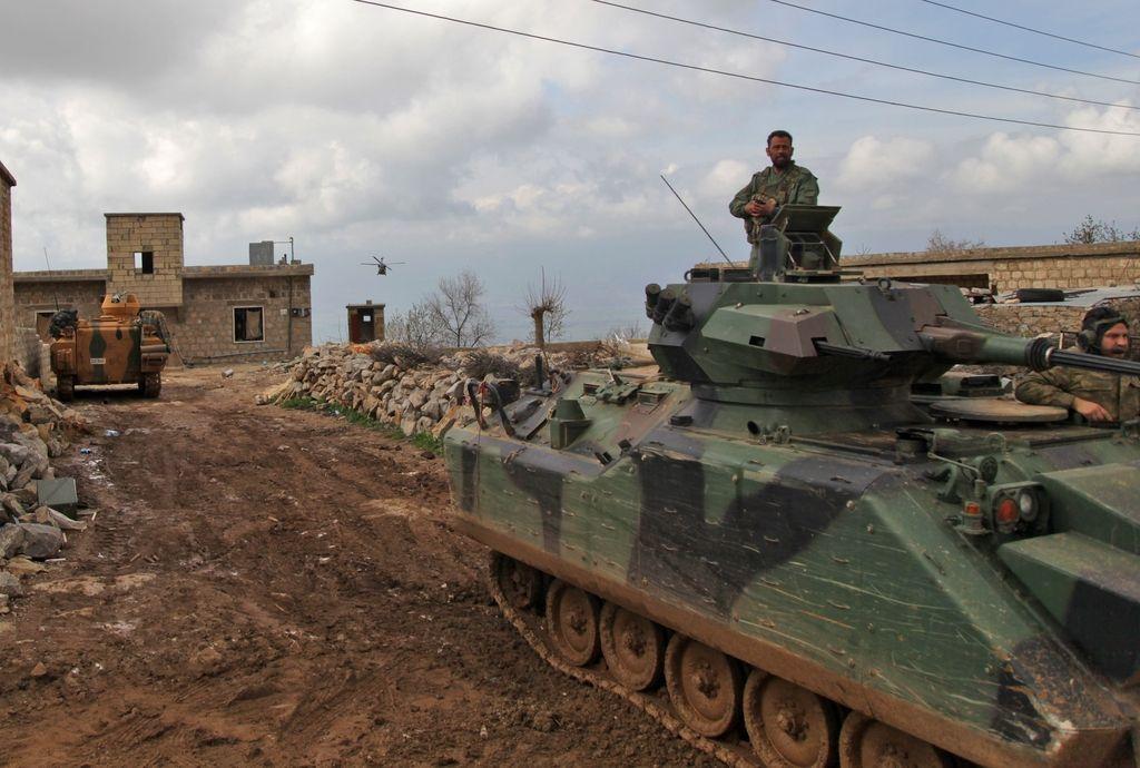 Turška vojska utrpela večje izgube v Afrinu