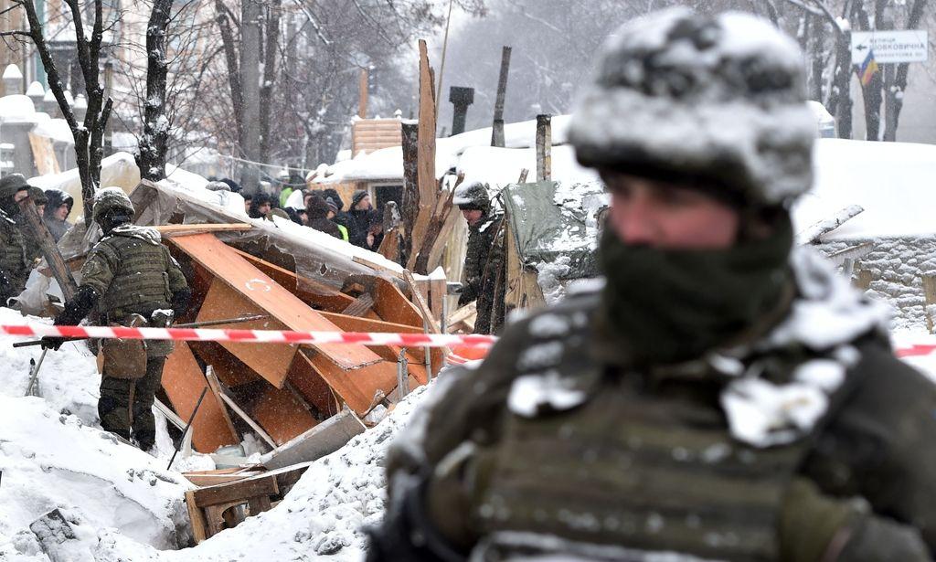 Ukrajina: V spopadih med protestniki in policijo več ranjenih