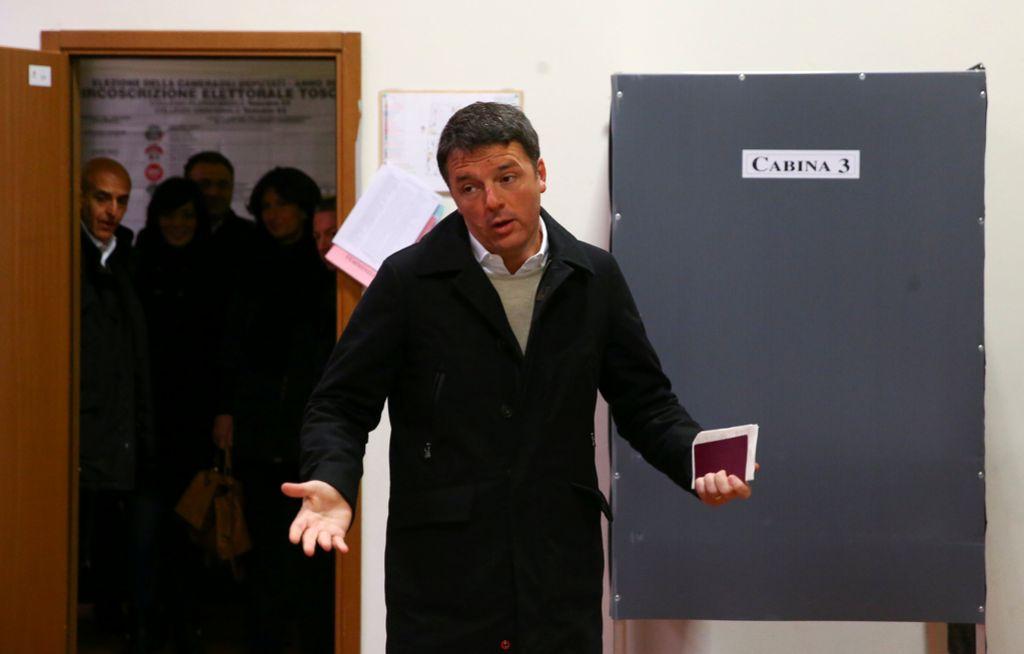 Volilna udeležba v Italiji do poldneva 19-odstotna