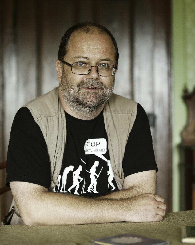 Pisateljska spovednica: Andrej E. Skubic