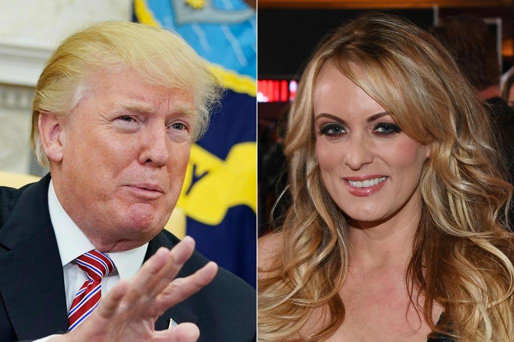Trumpov odvetnik poskušal utišati Stormy Daniels
